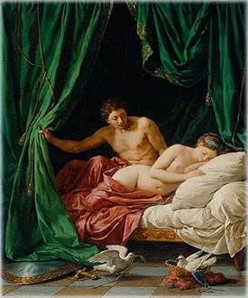 Mars and Venus, Allegory of Peace