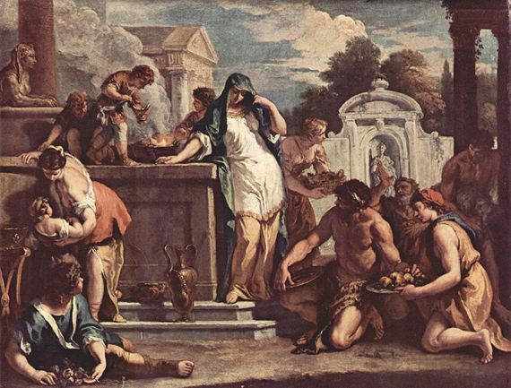 Sacrifice to the Goddess Vesta